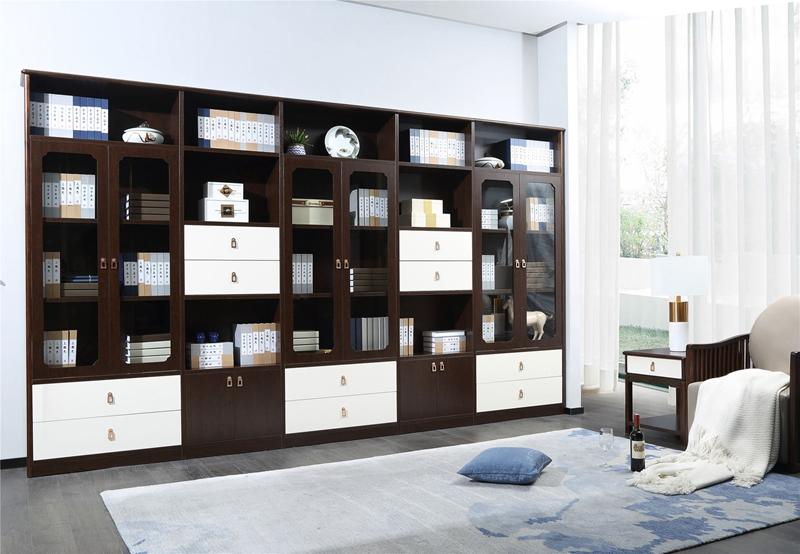 新中式G330直排书柜
