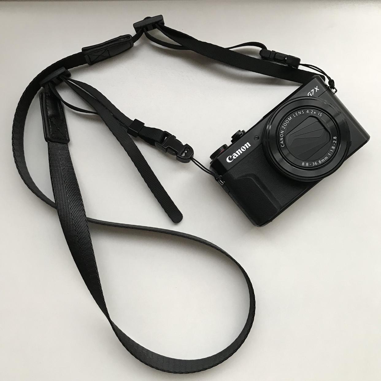 Sozor相机肩带微单M50G7X3理光GR3挂绳索尼RX100M6M5窄款柔软背带