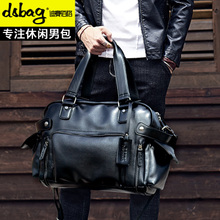 Men's handbags business briefcase men's Messenger bag Korean version of the large-capacity men's bag casual travel bag tide shoulder bag
