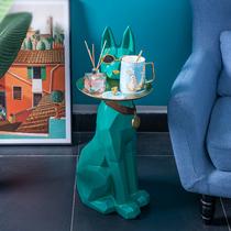 創意落地大型狗擺件喬遷新居禮品北歐輕奢客廳電視柜旁家居軟裝飾