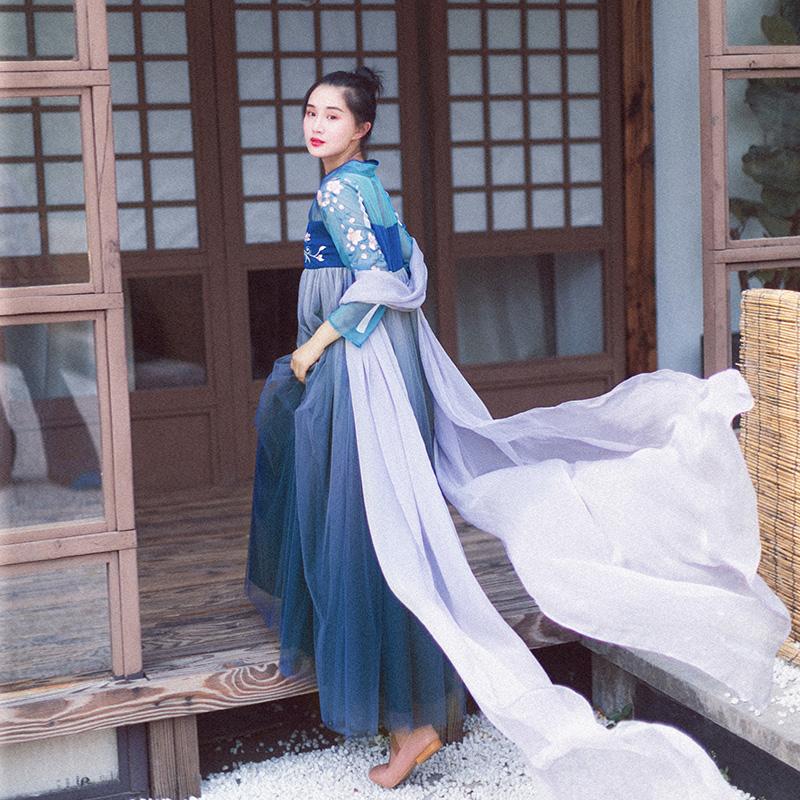11月30日最新优惠棉麻记2019夏季新款复古国风连衣裙