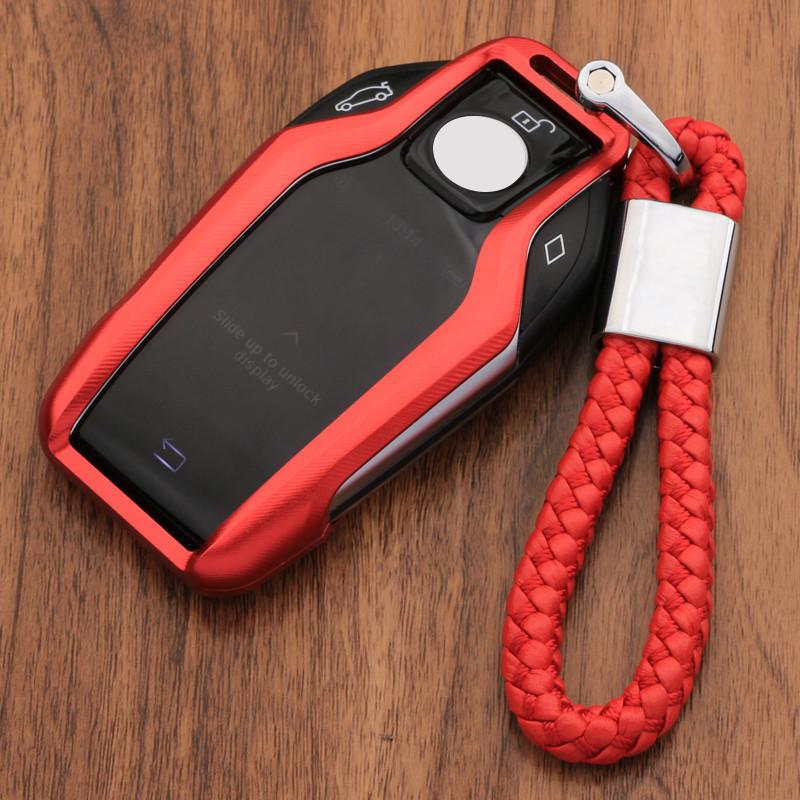 迪加伦 2018款宝马7系740Li钥匙包6系GT640i女钥匙扣保护壳液晶屏