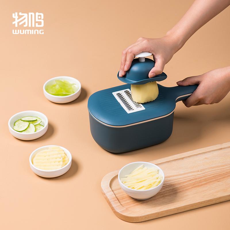 物鸣擦丝器切丝器家用土豆丝神器切菜多功能切片厨房用品刨丝器