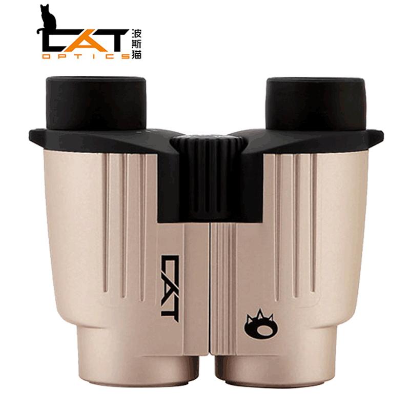 ボースキャット刺繍タイガー8 x 25双眼鏡ハイビジョン安定ファッションコンパクトコンサート望遠鏡