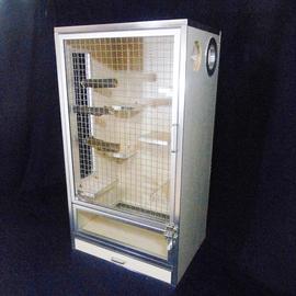 玻璃门框不锈钢轧花网门宠物柜门网龙猫柜笼门笼柜铝框门柜笼定做