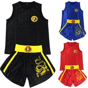 散打散打服格斗训练服拳击服短裤