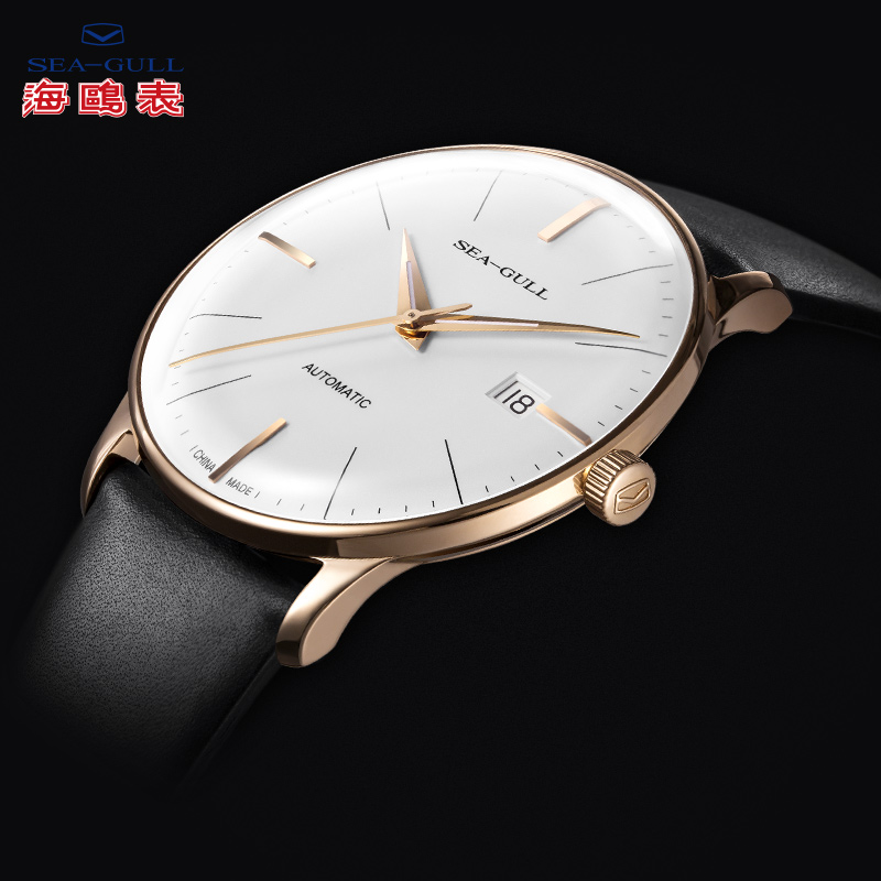 the new ultra thin watches seagull seagulls male automatic the new ultra thin watches seagull seagulls male automatic mechanical watch men watch strap 519 519