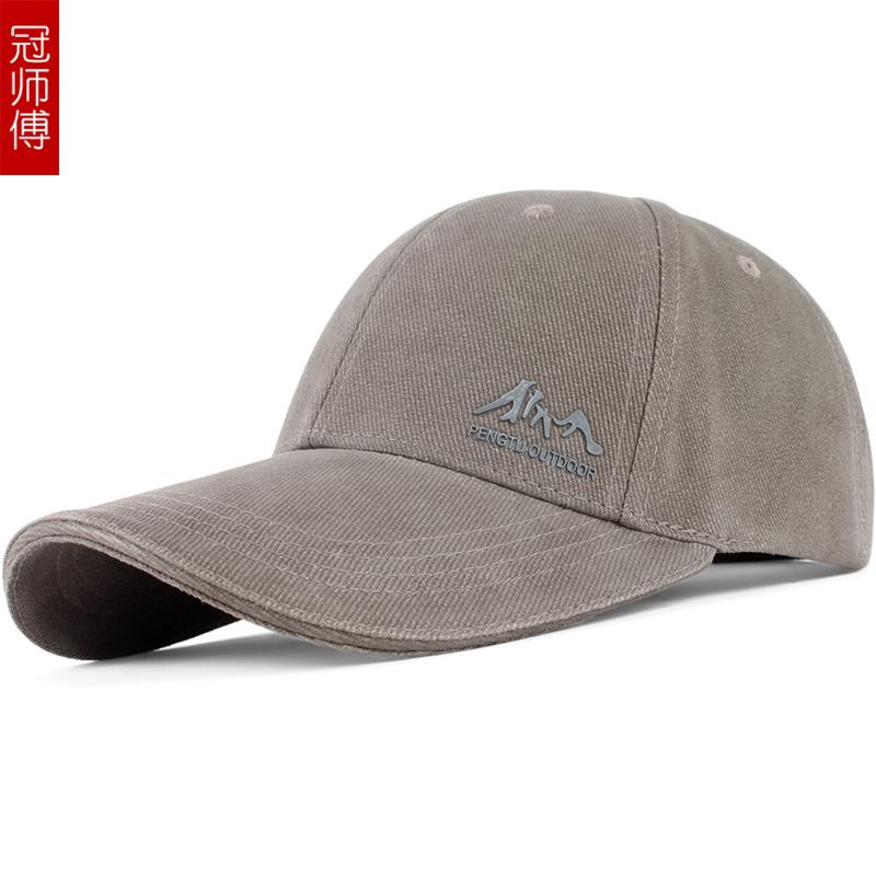 棒球帽春秋男帽子时尚男士帽子秋冬棒球帽韩版潮鸭舌帽户外帽子男