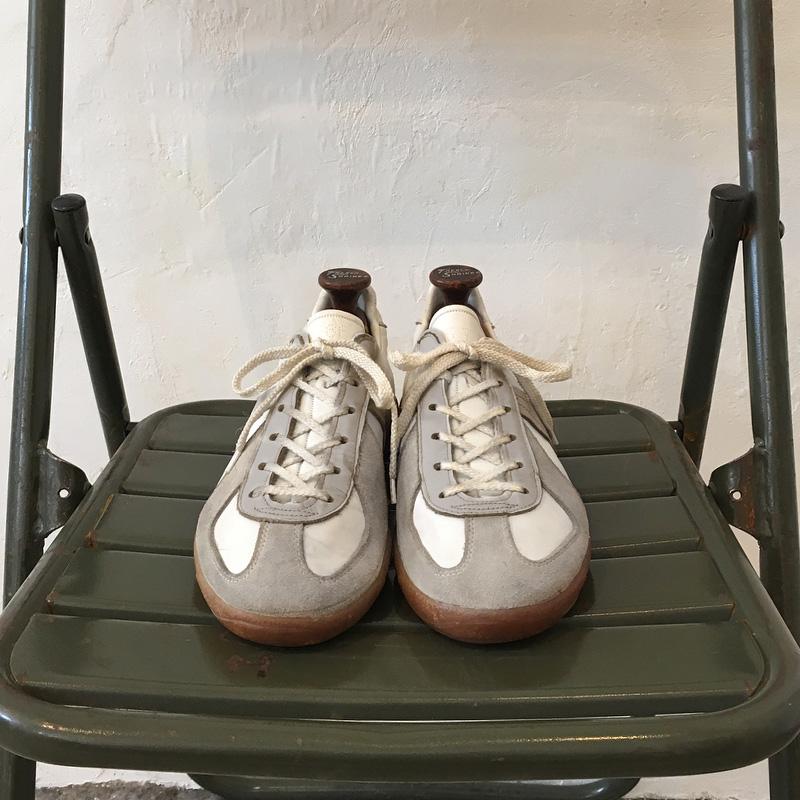 马登德训鞋男秋季新款休闲小白鞋日系复古德军训练鞋情侣运动板鞋