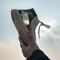 籃球鞋空軍一號韓版秋季爆改高幫鞋改色涂鴉板鞋aj1皮卡丘聯名鞋