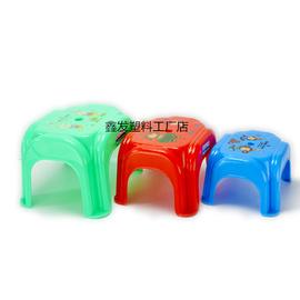加厚儿童凳矮凳塑料凳子大小板凳方凳餐桌凳防滑凳换鞋凳成人脚凳图片