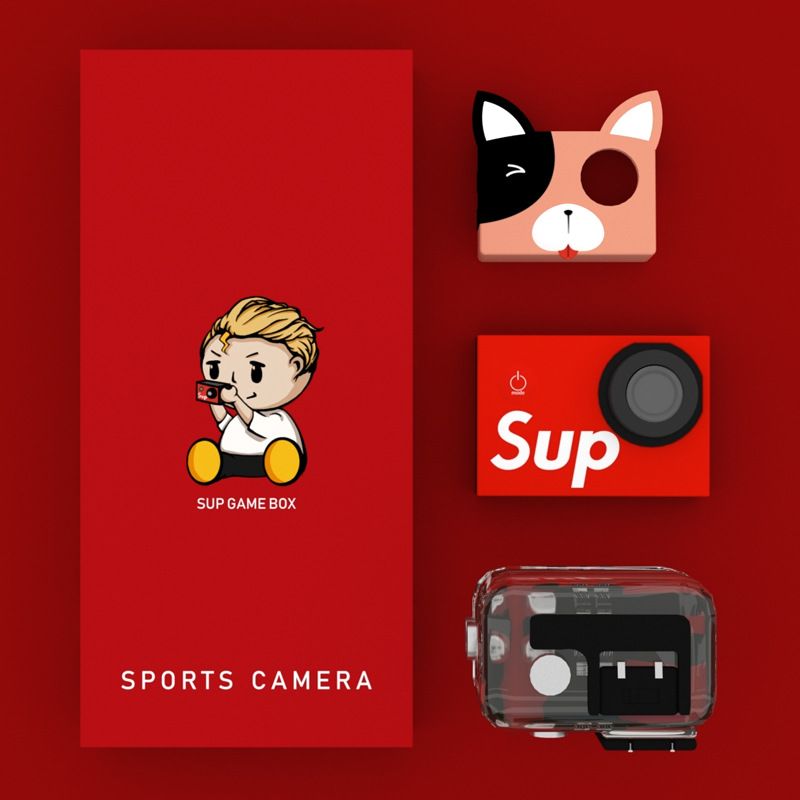 sup game box儿童卡通可拍照小相机