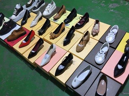 孤品清仓工厂春款牛皮都是女单鞋