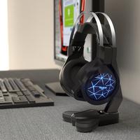 头戴式电脑游戏耳机支架创意耳麦展示架子支架挂架托架诺西 BH210