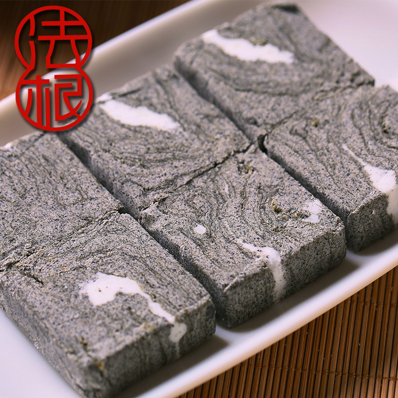 杭州特产正宗黑麻酥糖厂塘栖法根食品糕点重麻酥糖老年人吃糕点心