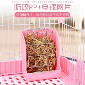 兔子弹簧草架龙猫固定式草架豚鼠草篮子压片式上掀式草架新品包邮图片