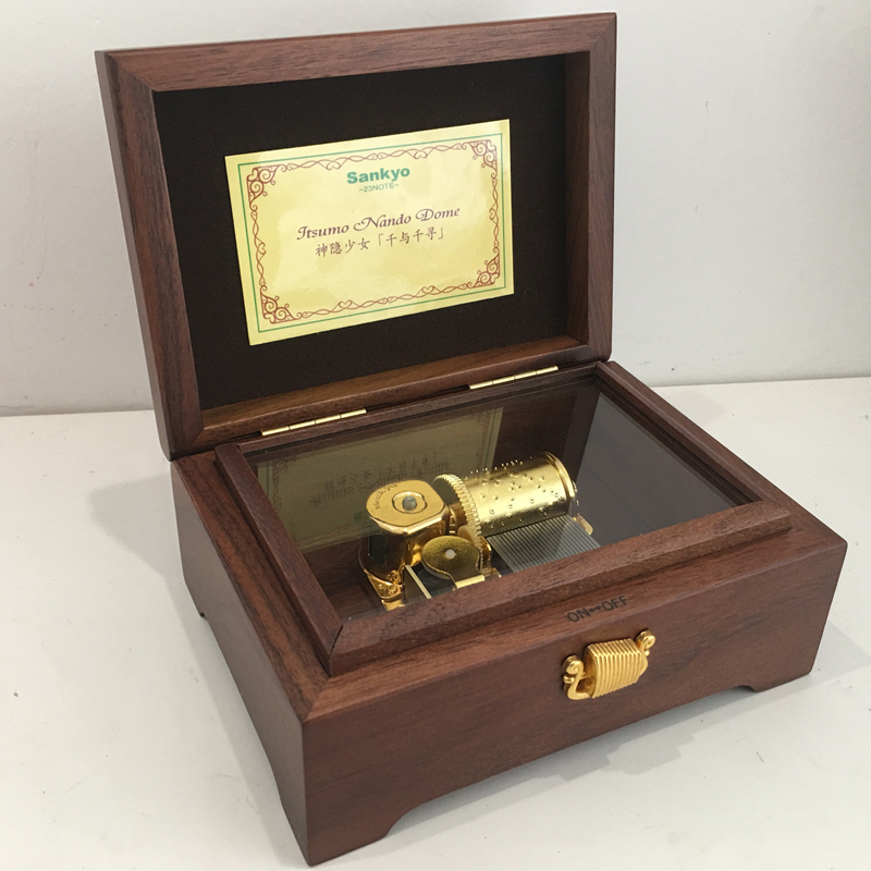 30八音盒天空之城日本23音Sankyo音乐盒千与千寻创意生日礼物女生满400元可用30元优惠券