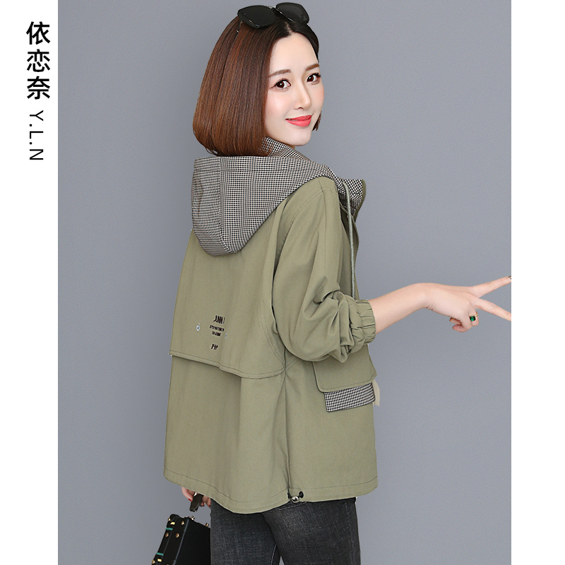 Cotton clothing 2020 new ladies short autumn and winter clothing all-match mother jacket age reduction jacket quilted jacket cotton coat