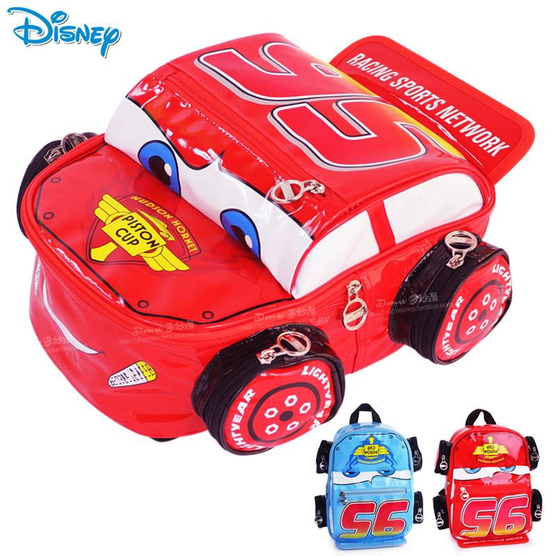 兒童書包幼兒園男童 正品迪士尼汽車總動員麥昆卡通可愛寶寶背包