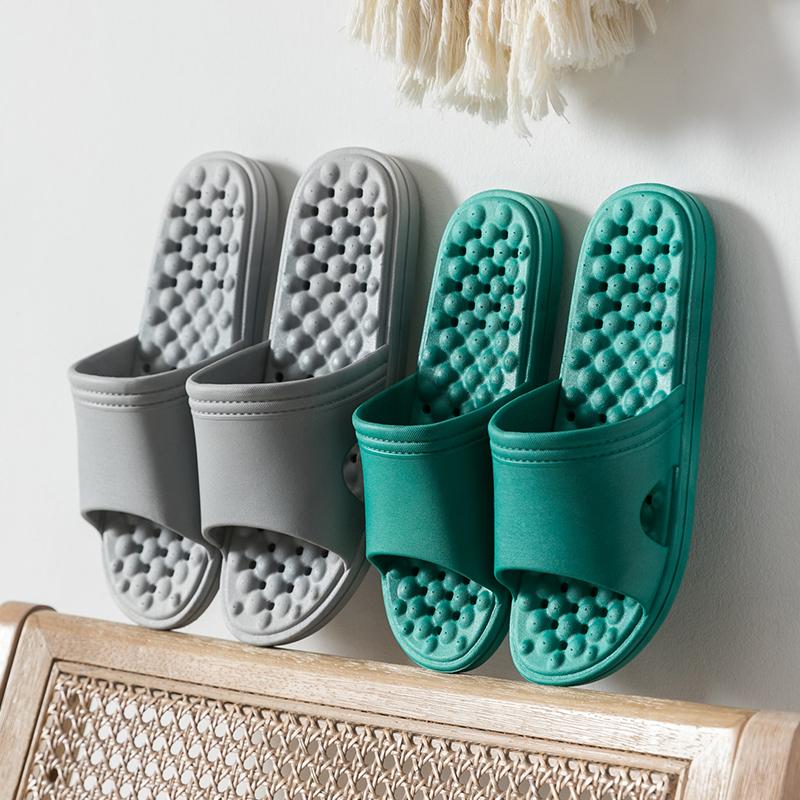 浴室拖鞋女夏天室内防滑情侣洗澡漏水女士居家夏季凉拖鞋男夏家用