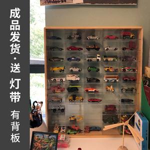 火柴盒免组装小汽车收纳盒多美卡风火轮tomy儿童玩具车模