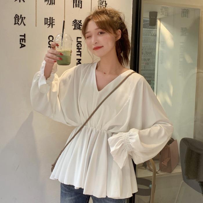 很仙的夏装2019新款韩版显瘦衬衣满40.00元可用0.020000000000003元优惠券