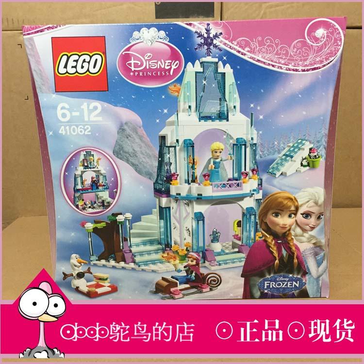 Аутентичные пятно LEGO41062 Disney Принцесса Золушка Снежный замок строительные блоки цинизм и LEGO игрушки девочек