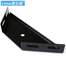 Large Bed Corner code heavy-duty laminate bed connector corner iron Bed Frame accessories row Skeleton Black Corner code