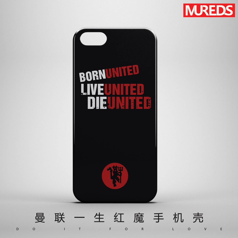MUREDS оригинал манчестер юнайтед продолжительность жизни красные дьяволы iPhoneX/6//6sP/7P/8Plus матовый корпус корпус телефона