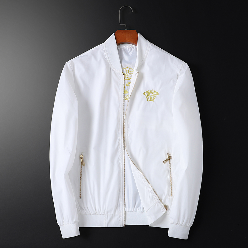 New mens Medusa embroidered jacket in spring and summer 2021