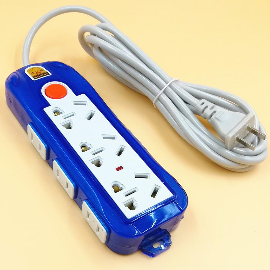 插排插线板两二项线2眼孔2脚插插座家用电源接线板拖线板1.8/2.8m