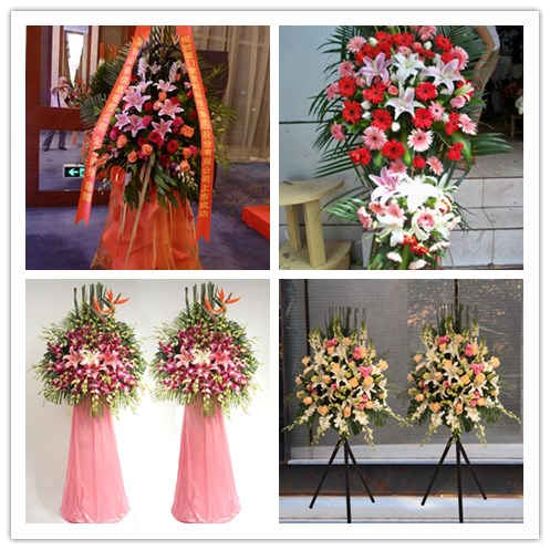 A1 company opens fresh flower basket in City Express florist to send flowers to Mengjin County, Xigong District, old district, Luoyang City, Henan Province