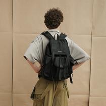 VAOPER时尚街头背包男双肩包学生休闲书包欧美潮牌电脑旅游包女