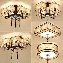 新中式吸顶灯LED客厅灯长方形现代简约中国风三室两厅餐厅卧室灯