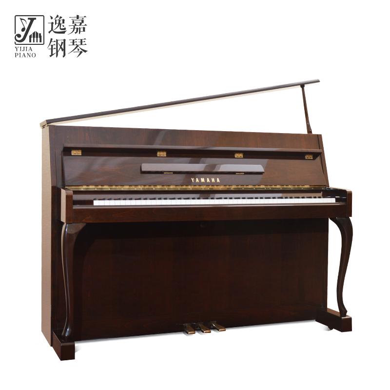 日本原装二手YAMAHA/雅马哈L102初学 家用 演奏 古典书房立式钢琴