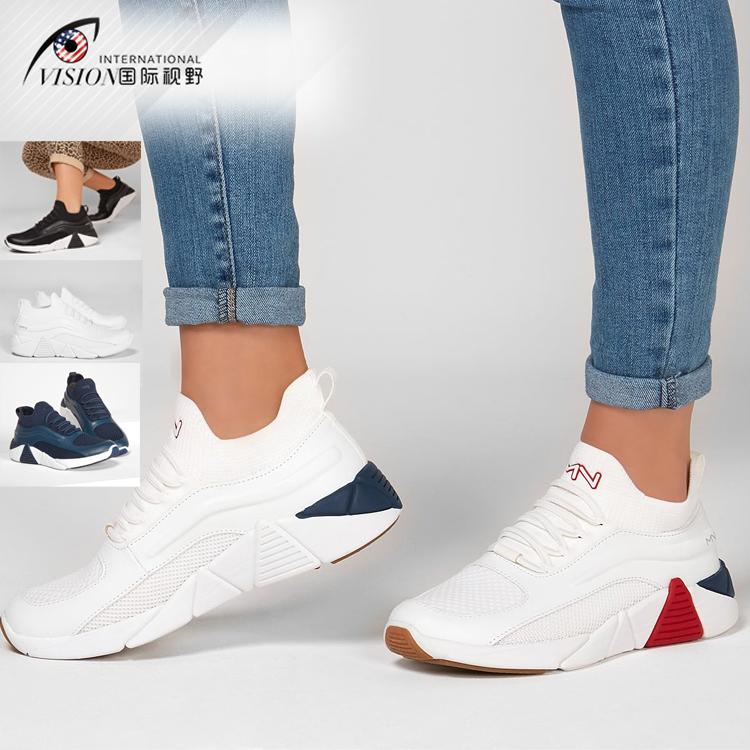 Skechers斯凯奇马克纳森女鞋女2020新款透气时尚百搭运动鞋133028