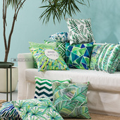 Tropical Themed Decorative Couch Cushions