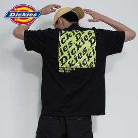 【商场同款】dickieslogo印花短t恤