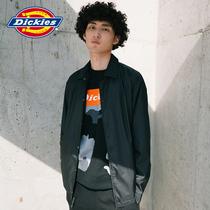 【商场同款】Dickies抽绳教练夹克 男式印花翻领薄外套 DK006684
