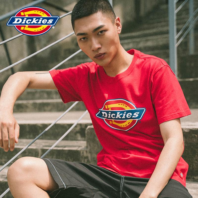 Dickies多色Logo印花短袖Tee 男式夏季新品全棉男士T恤DK006026