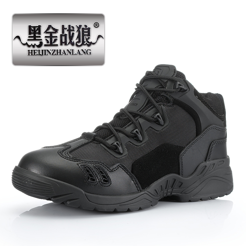 Tactical Boots Mens Special Forces Combat Boots low top breathable summer desert boots as training shoes