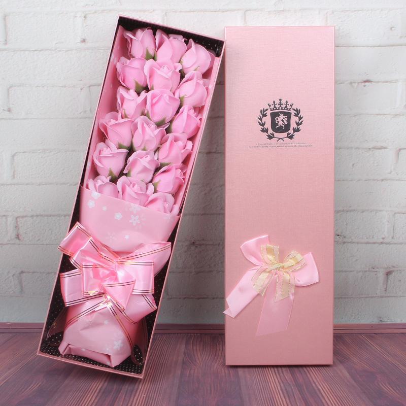Роза мыло мыло цветочный подарок отдавать подруга мужской и женщины друг творческий выйти замуж подарок день рождения танабата день святого валентина
