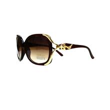 流行新款狐狸腿华丽女太阳眼镜 旅游开车防晒减光大框墨镜 包邮