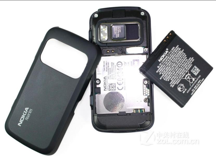 诺基亚n86经典滑盖智能手机学生备用手机包邮