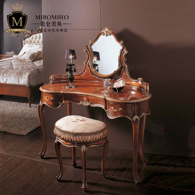 Italian Lancome dressing table neoclassical post modern luxury high end villa luxury house dressing table customization