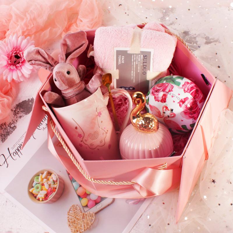 限时2件3折伴娘结婚创意生日满月伴手实用礼盒