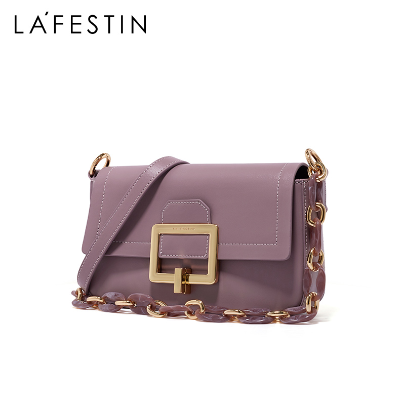 Rafistine bag 2020 new trendy thick chain one-shoulder armpit small square bag female wild lock crossbody female bag