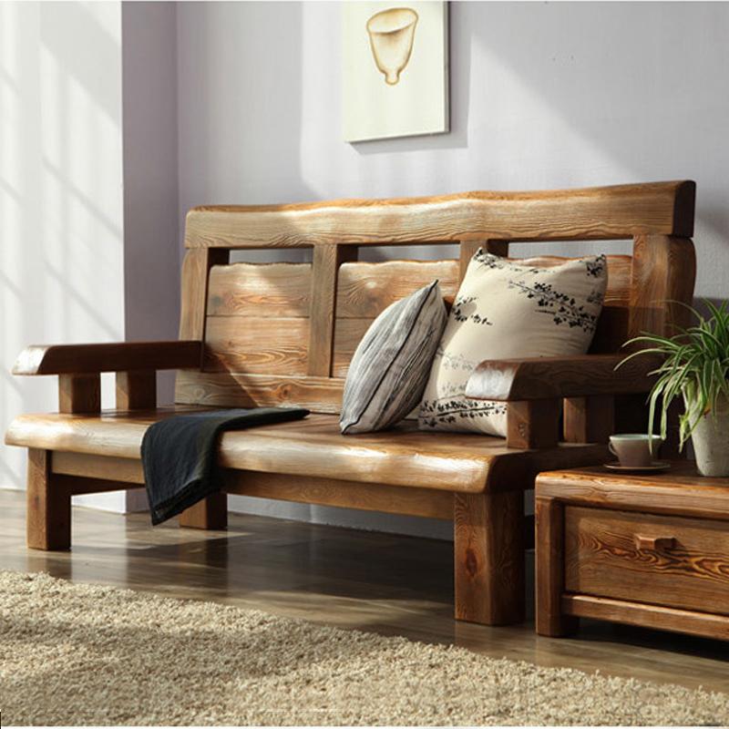 茗馨新中式家具纯实木三四人沙发