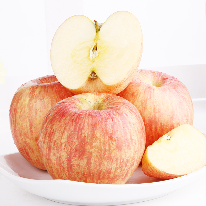 2020 fresh Yantai Qixia Apple 10 jin package