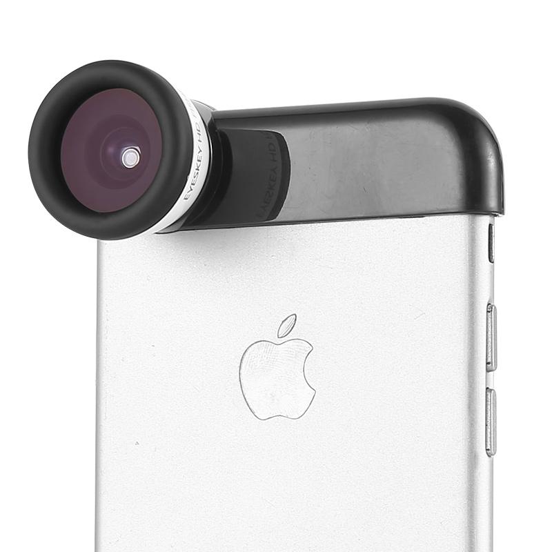艾斯基 苹果iPhone6/6S/6P鱼眼镜头 iphone5/5S/5E鱼眼手机镜头,可领取5元天猫优惠券